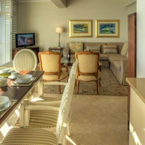 Dining & Living area; ROODEBERG VIEWS - Camps Bay