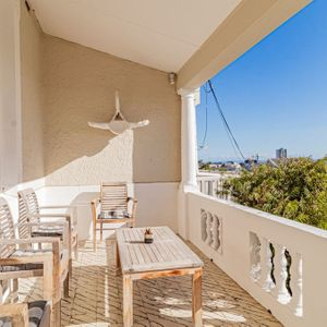 Seating and view; SELBOURNE - Sea Point