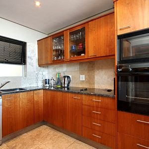 Kitchen; PANORAMA APARTMENT - Camps Bay