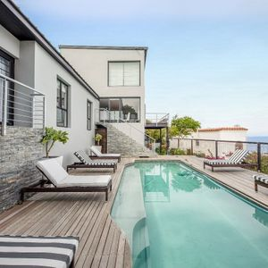 Pool deck; SUNSET BLISS - Camps Bay