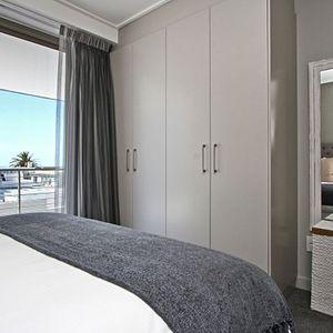 Master bedroom; FAIRMONT 201 - Sea Point