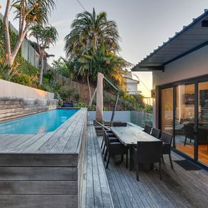 Swimming pool & seating; 129 OCEAN VIEW - Green Point