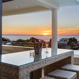 Balcony with views; THE LOOK OUT - Camps Bay