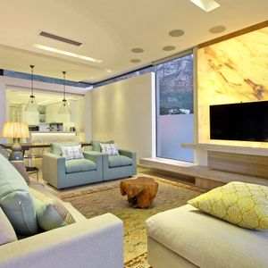 Living & TV area; LA COSTA MAYA - Camps Bay