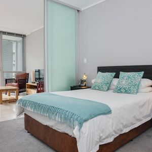 Master bedroom and lounge;  Harbour Bridge 303 - Foreshore
