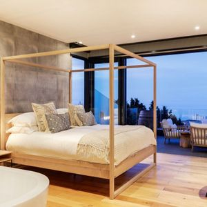 Master bedroom with view; 129 OCEAN VIEW PENTHOUSE - Green Point