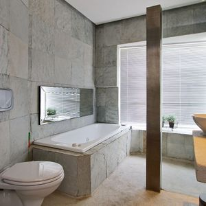 Cottage Main Bathroom; SILVER LINING - Camps Bay