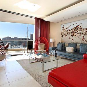 Lounge Views; PEMBROKE LUXURY - V&A Waterfront Marina