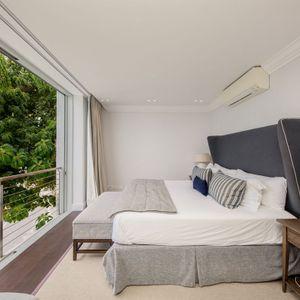 Master bedroom; VICTORIA APARTMENT - Camps Bay
