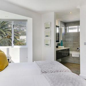 Second Bedroom & En-suite Bathroom; SELENE MOON - Camps Bay
