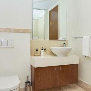 Bathroom; 205 CANAL QUAYS - Foreshore