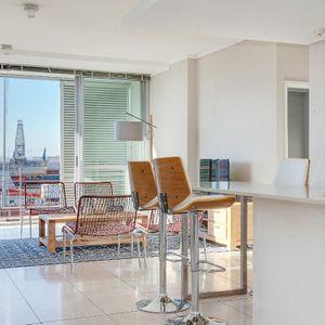 Kitchen seating & Lounge area; 317 HARBOUR BRIDGE - Foreshore