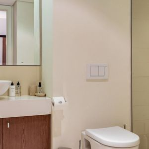 Bathroom and shower; 306 CANAL QUAYS- Foreshore