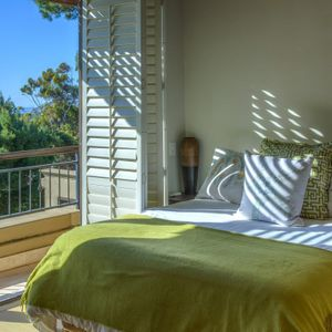 Second bedroom; ROCK VILLA - Camps Bay