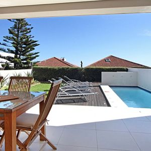 Terrace & Pool; VILLA  BLUE -  Camps Bay