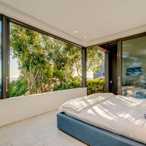 Main Bedroom View; WATERWAY - Camps Bay