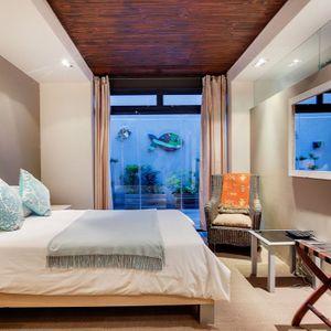 Second bedroom; OCEAN VIEW TREASURE-Sea Point