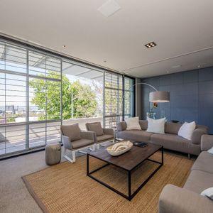 Living room; LOADER PENTHOUSE - De Waterkant