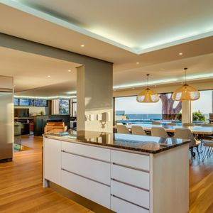 Open Plan Kitchen with a View; danielle Perold - Camps Bay