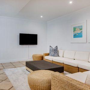 Downstairs Tv lounge; MEDBURN ALPHA - Camps Bay