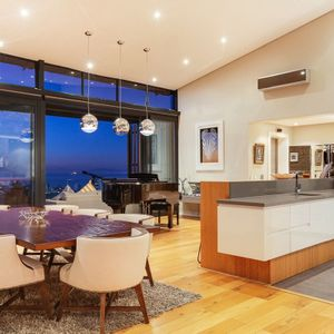 Kitchen & Dining area; 129 OCEAN VIEW - Green Point