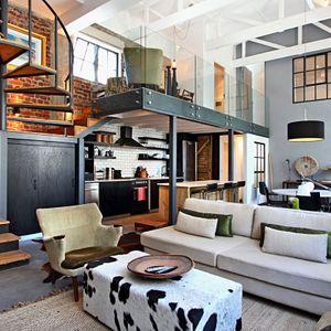Living & kitchen area; BANDAR - Cape Town City Centre