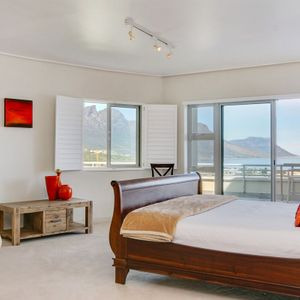 Master bedroom; CLIFTON PENTHOUSE - Clifton