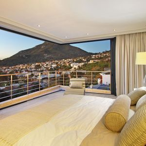 Master bedroom & mountain views; THE LOOK OUT - Camps Bay