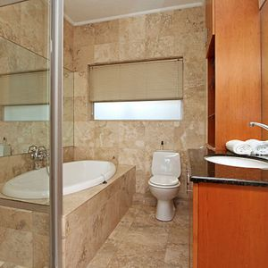 Bathroom; PANORAMA APARTMENT - Camps Bay