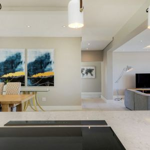 Open plan living area; ROMAN VILLA - Camps Bay