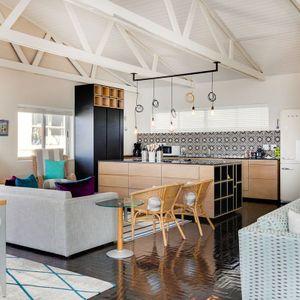 Formal living area & Kitchen: BONDI BLU - Mouille Point