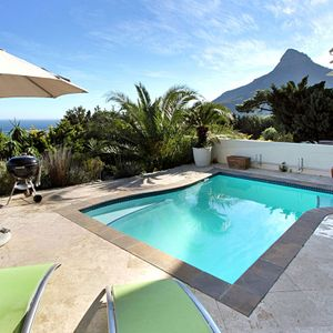 Exterior & Mountain view; PANORAMA APARTMENT - Camps Bay