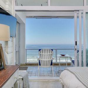 Master bedroom & Views; SAND & SEA - Clifton
