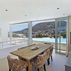 Dining area & Pool; SILVER LINING - Camps Bay