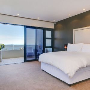 Master Bedroom; TOUCH OF WHITE - Camps Bay