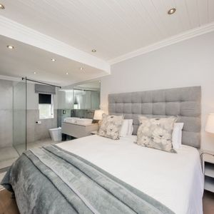 Main bedroom; SEASONS B - Camps Bay