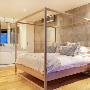 Master bedroom; 129 OCEAN VIEW PENTHOUSE - Green Point