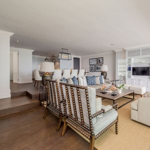 Open plan lounge; VICTORIA APARTMENT - Camps Bay
