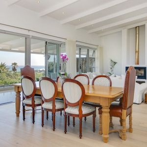 Dining area & view; Shanklin Road - Camps Bay