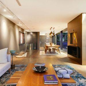 Living area; 2 on HILDENE - Tamboerskloof