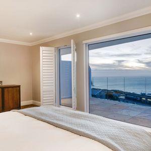 Main bedroom; MEDBURN ALCOVE - Camps Bay