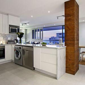 Kitchen; FAIRMONT 1001 - Sea Point