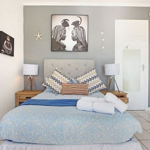 Fourth bedroom; BLUE SHORE VILLA - Camps Bay