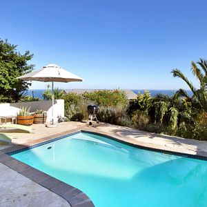 Pool area; PANORAMA APARTMENT - Camps Bay