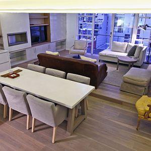 Open Plan Living Area; CITY VIEW LOFT - CBD