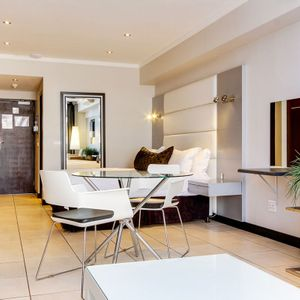 Dining area & bedroom; ICON 1700 - Cape Town City Centre