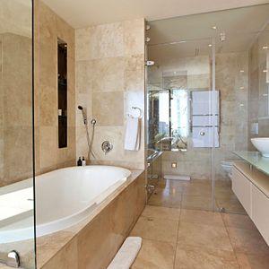 Shower; PEMBROKE LUXURY - V&A Waterfront Marina