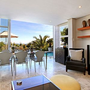 Dining area; PANORAMA APARTMENT - Camps Bay