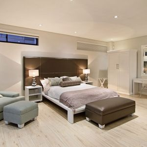 Fourth bedroom; THE LOOK OUT - Camps Bay