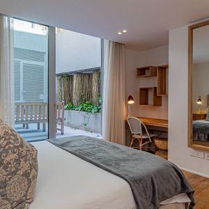 Second Bedroom Courtyard; 100 Geneva - Camps Bay